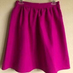 Lulu's pink skirt